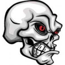Playsafe 4u, Skull facing Left