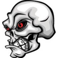 Playsafe 4u, Skull facing Right